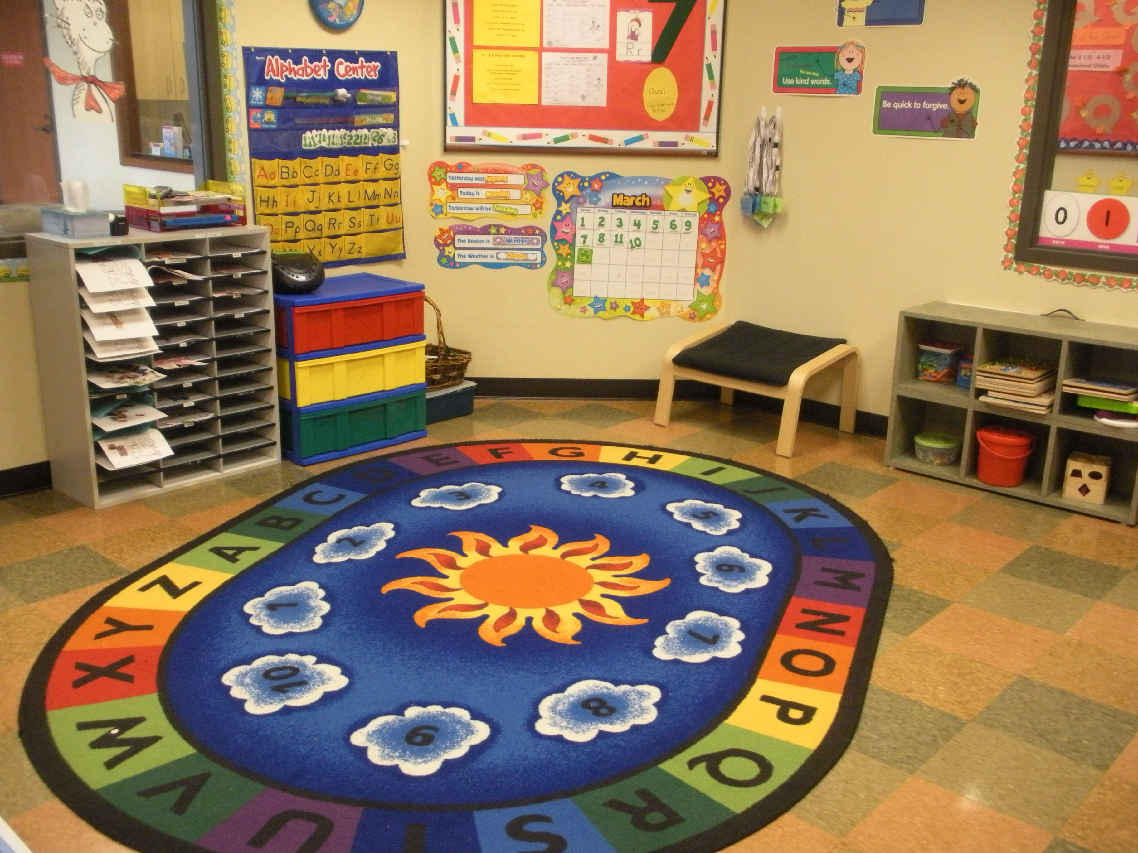 Home Daycare Layout Design St Mark S Lutheran By The Narrows Preschool